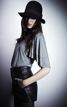 Frill sleeve top by Amy Segal Product photo