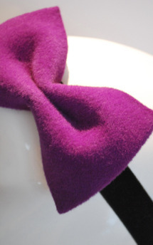 Purple bow by Rosie Olivia Product photo