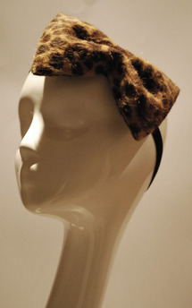 Leopard print bow by Rosie Olivia Product photo