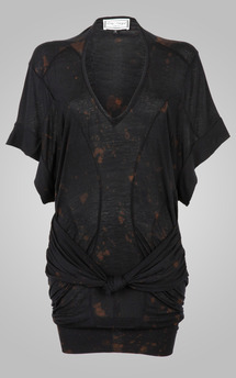 Goddess top black galaxy by Amy Segal Product photo