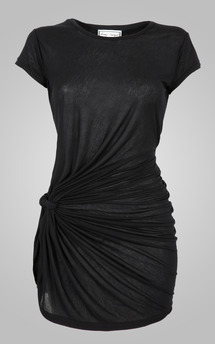 Knot tunic black by Amy Segal Product photo