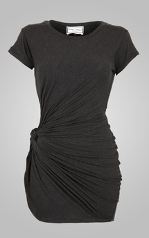 Knot tunic charcoal by Amy Segal Product photo