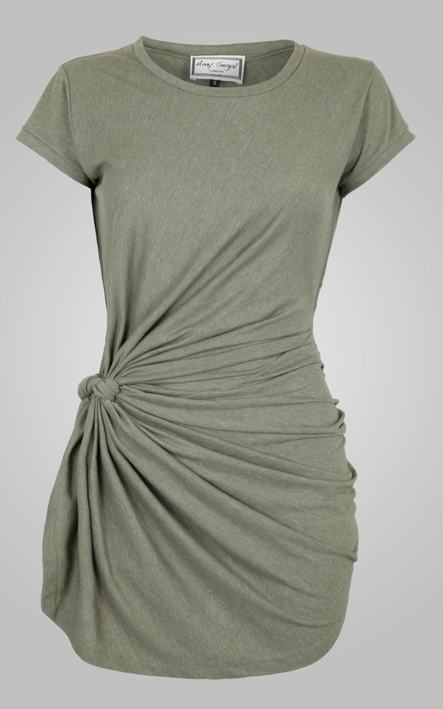 Knot Tunic Sage by Amy Segal