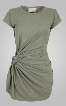 Knot tunic sage by Amy Segal Product photo