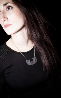 Magic eye necklace  by Becky Dockree Jewellery Product photo