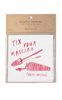 Helpful hankies   fix your mascara   you're amazing  by Moi Self Product photo