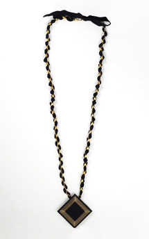 Kosmos ribbon necklace by Isabel Wong Product photo