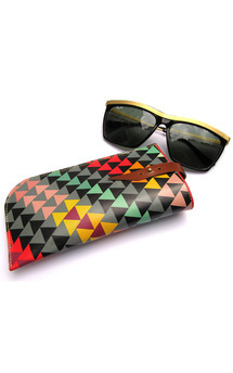 Leather sunglasses case by Tovicorrie Product photo