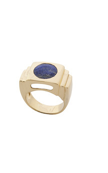 Capri ring blue by Trisori Shop Product photo