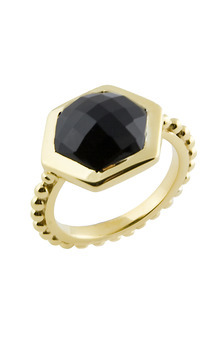 Maui ring black by Trisori Shop Product photo