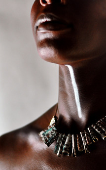 Warrior necklace by K Rothwell Jewellery Product photo