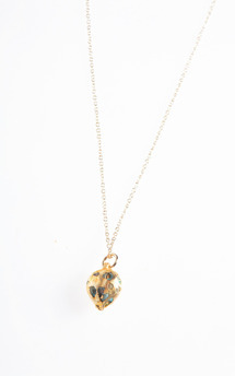 Mini gold hunter necklace by K Rothwell Jewellery Product photo
