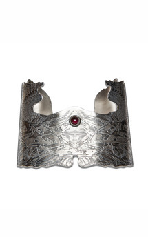 angel wings rotation cuff  by Becky Dockree Jewellery Product photo