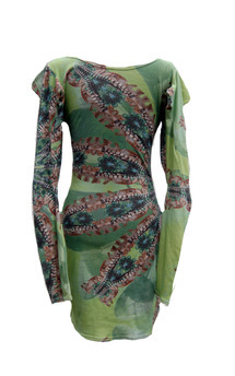 Print jersey dress by Dominique Kral Product photo
