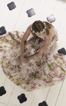 Floral titania maxi dress by Fifi Product photo