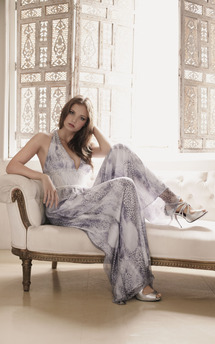 Silk snakeskin cupid maxi by Fifi Product photo