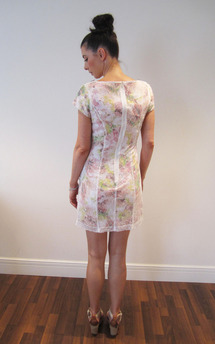 Lace and floral nectar dress by Fifi Product photo