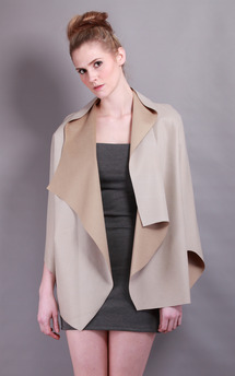 Harmony 1 | cape jacket by Isabel Wong Product photo