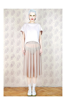 Dirty heather lovely skirt  by Est By Es. Product photo