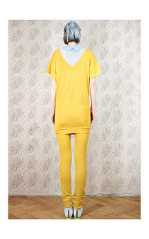 Yellow sunny dress by Est By Es. Product photo
