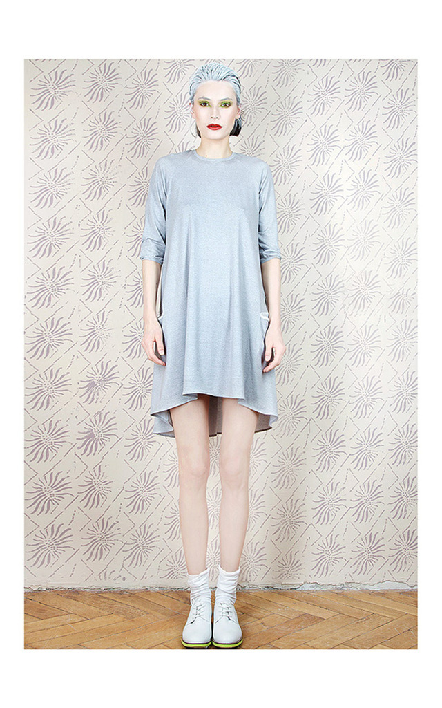 Grey Pocket Dress by Est By Es.