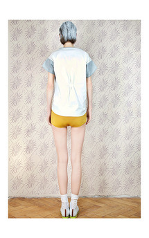 Mix blouse by Est By Es. Product photo