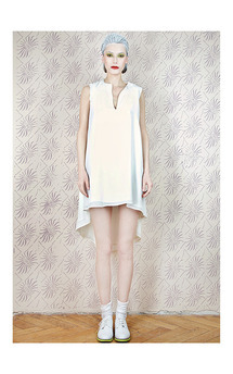 White dress by Est By Es. Product photo