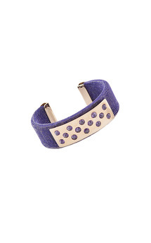 Lorenza Bangle Blue by Trisori Shop Product photo