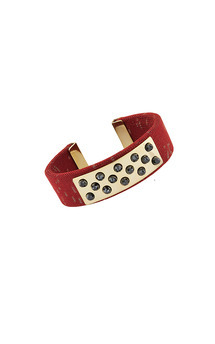 Lorenza bangle red by Trisori Shop Product photo