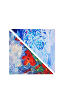 Poppies rain & wild whirlwind   by A B O London Product photo