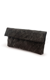 Poulard leather derma clutch by Heidi Mottram Product photo