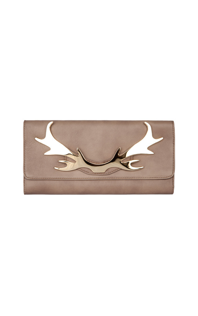 Loulou Clutch Mushroom by Louloubelle Bags