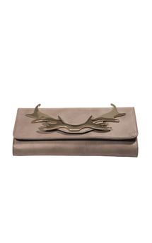 Loulou clutch mushroom by Louloubelle Bags Product photo
