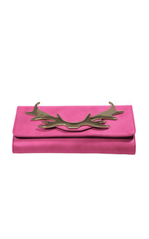 Loulou clutch berry by Louloubelle Bags Product photo
