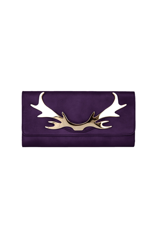 Loulou Clutch Violet by Louloubelle Bags