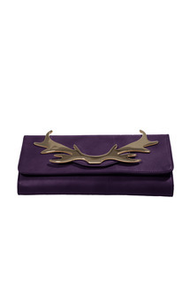 Loulou clutch violet by Louloubelle Bags Product photo