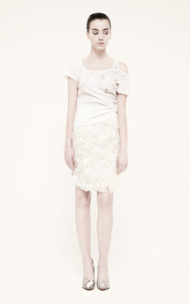 Feather skirt by Umit Kutluk Designs Product photo