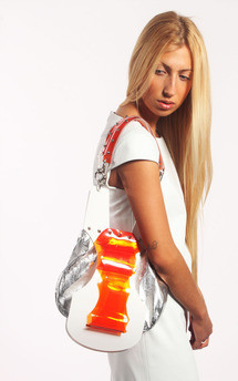 Futuristic shopper by Laura Jessica. Product photo