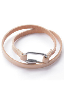 Leather wrap bracelet by Chloe Stanyon Design Product photo