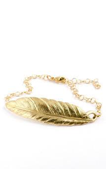 Feather bracelet  by Frillybylily Product photo