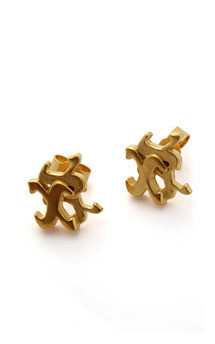 Three kisses studs by Nicola Crawford Jewellery Product photo