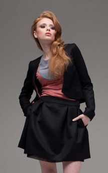 Cropped jacket by Adriana Voloshchuk Product photo