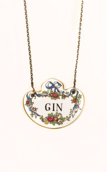 'i love my gin' necklace by Heroldian Jewellery Product photo