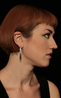 Vesper small loop earring by Cara Tonkin Jewellery Product photo