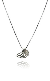 Lophorina silver wing pendant by Cara Tonkin Jewellery Product photo