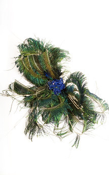 Flower of paradise fascinator by Anna Kompaniets Product photo