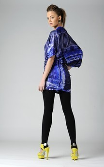 Mist print chloe dress by Xsenia & Olya Product photo