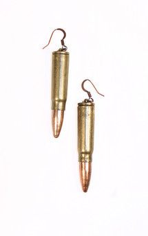 Bullet earrings by Heroldian Jewellery Product photo