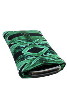Roque icase with tribal garden print by Carmen Woods Product photo