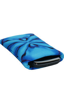 Roque icase with azzurro cherub print by Carmen Woods Product photo
